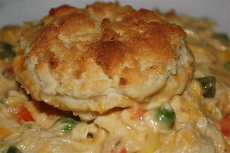 biscuit and chicken casserole