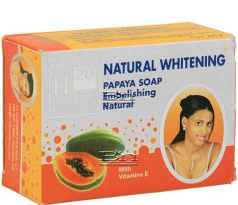 Sabun Papaya Whitening Soap Diskon h20 whitening papaya soap 225g juliet s departmental store