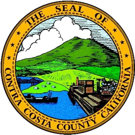 Contra Costa County Records File Seal Of Contra Costa County California Png Wikimedia Commons