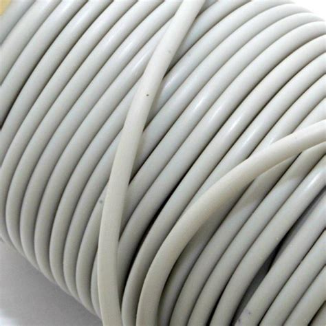 Rubber String Buna Cord 3 Mm Pale Grey Nemravka Cz