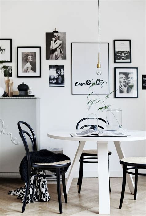 Black And White Dining Room Set by 10 Modern Black And White Dining Room Sets That Will Inspire You