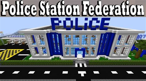 minecraft police minecraft police station federation youtube