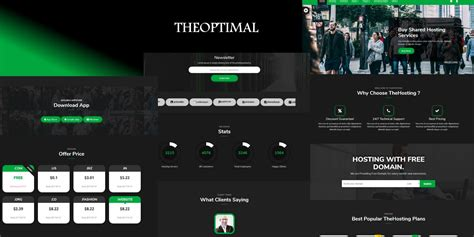 bootstrap themes unity theoptimal bootstrap template html technology website