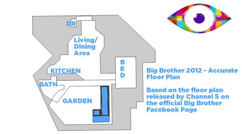 floor plan of big brother house floor plan of big brother house house design plans