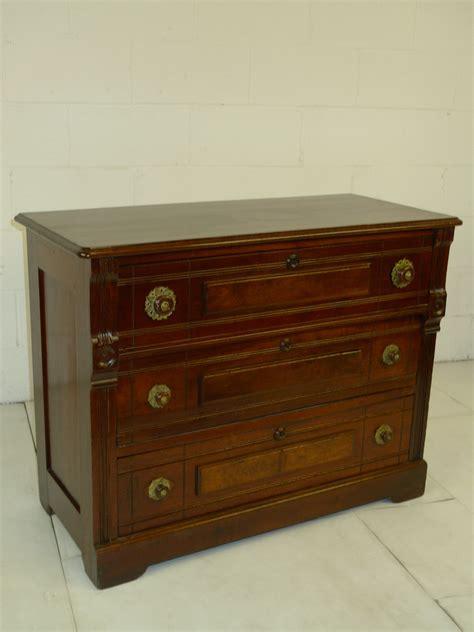 Eastlake Dresser by Eastlake Period Walnut Chest Of Drawers Dresser Eastlake Period Walnut