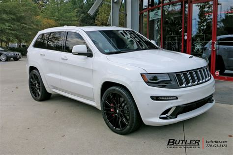 white jeep grand cherokee custom jeep grand cherokee custom wheels savini bm13 22x et