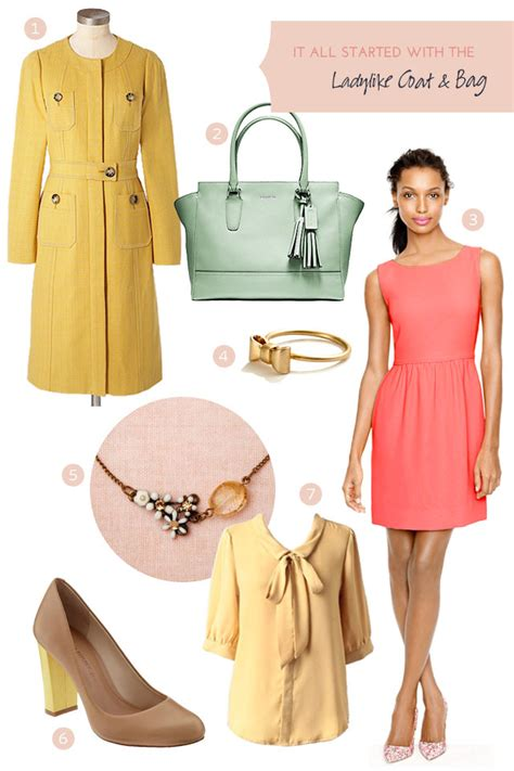 making it lovely style a ladylike coat and bag making it lovely