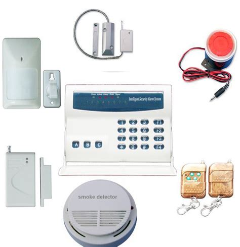china new wireless and wired home security burglar alarm