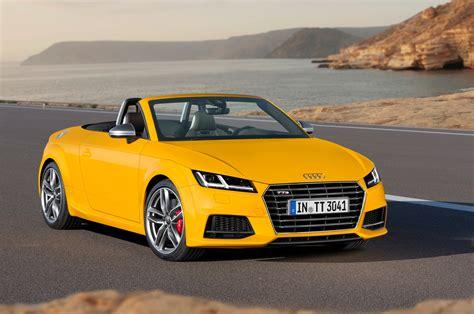 2016 audi tt 2016 audi tt tts roadster review