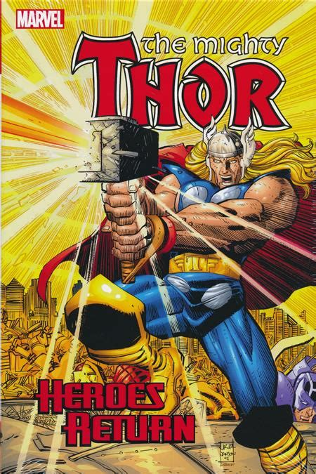 thor heroes return omnibus 1302908138 thor heroes return omnibus hc vol 01 discount comic book service