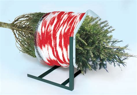 christmas tree lot netting and balers christmas tree lot