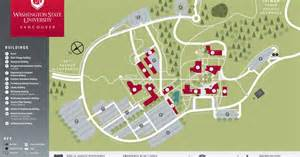 Washington State University Map by Campus Map Campus And Mountains Pinterest Campus Map