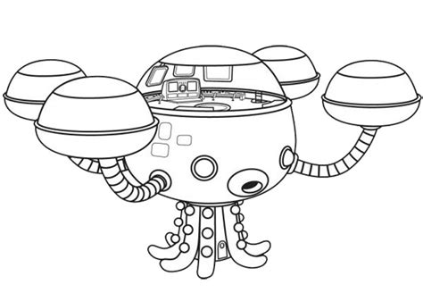 coloring page the octonauts 7