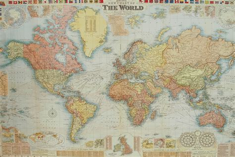map of print florentine print world map gw bacon