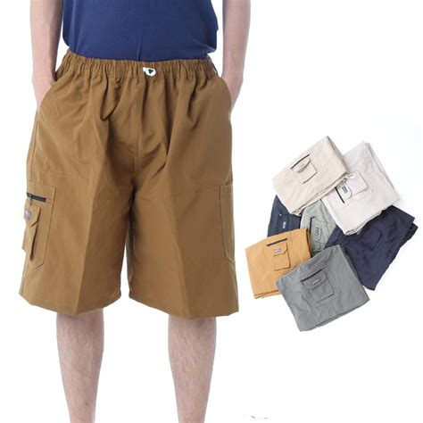 Celana Cargo Pendek Pria 1 3 calista celana cargo jumbo bestseller celana pendek pria elevenia