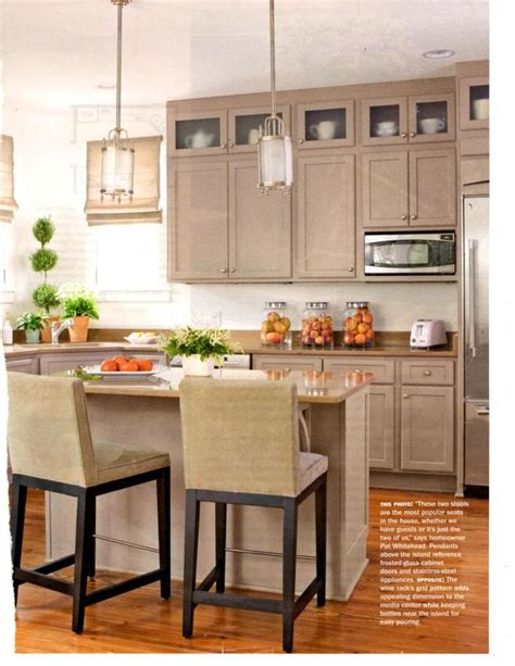 tan painted kitchen cabinets 1000 images about the kitchen gray taupe on pinterest