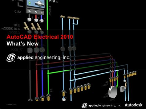 autocad tutorial for electrical engineers what s new in autocad electrical 2010