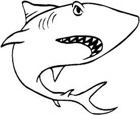 white shark pictures color az coloring pages