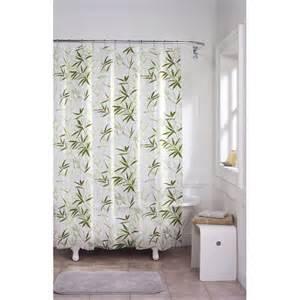 Zen garden bamboo eva shower curtain bedbathhome com