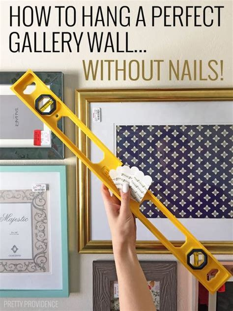 picture hangers without nails how to hang a perfect gallery wall without nails nail