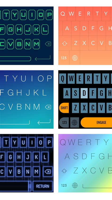 themes for iphone keyboard fancykeyboard for ios 8 customize your keyboard with
