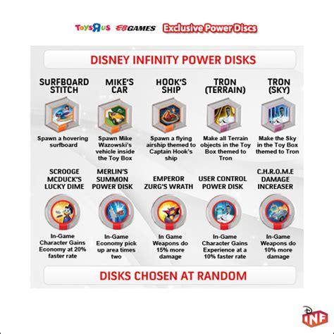 disney infinity exclusive power discs disney infinity fans view topic series 1 power discs