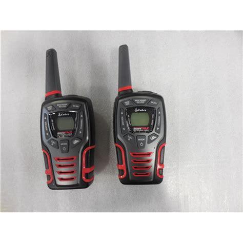 rugged two way radios cobra cxt575pc rugged 2 way radios