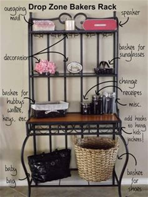What Do You Put On A Bakers Rack by 1000 Ideas About Bakers Rack Decorating On