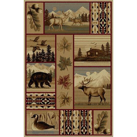 Wildlife Area Rugs Yellowstone Wildlife Area Rugs