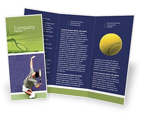 tennis flyer template free tennis brochure template design and layout now 01697 poweredtemplate