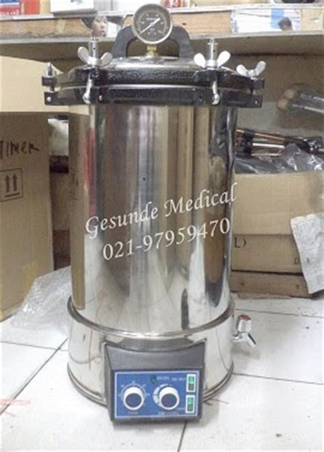 Autoclave Elektrik jual sterilisator basah autoclave timer yx 280d 24liter toko medis jual alat kesehatan