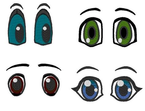 embroidery design eyes pretty eyes machine embroidery designs single files 1