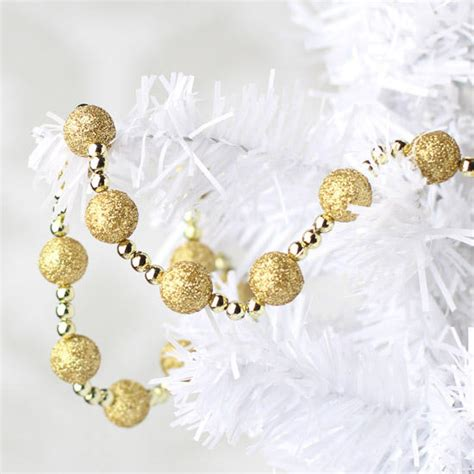 gold glitter garland christmas garlands christmas and