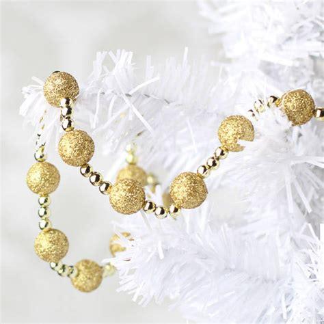 gold glitter garland christmas garlands christmas and