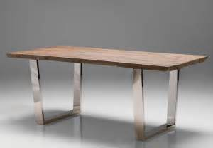 Desk or conference table with reclaimed wood top officedesk com