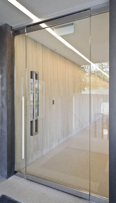 Frameless Glass Doors Exterior Frameless Glass Doors In Melbourne Frameless Impressions