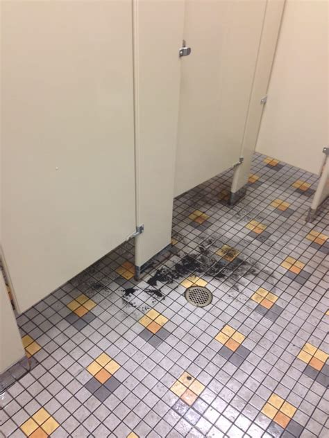 la fitness locker room mens locker room with toilet overflowing going on day 3 need to use the bathroom poo on