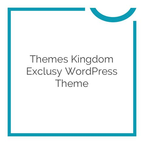 themes kingdom themes themes kingdom exclusy wordpress theme 1 8 download nobuna