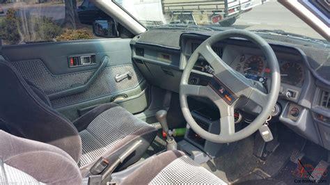 mitsubishi cordia interior mitsubishi cordia gsr turbo aa 1984 3d hatchback 5 sp