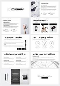Minimalist Powerpoint Template by Free Minimal Powerpoint Template On Behance