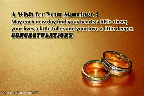 New Wedding Quotes by Marriage Wishes Quotes New Quotesgram