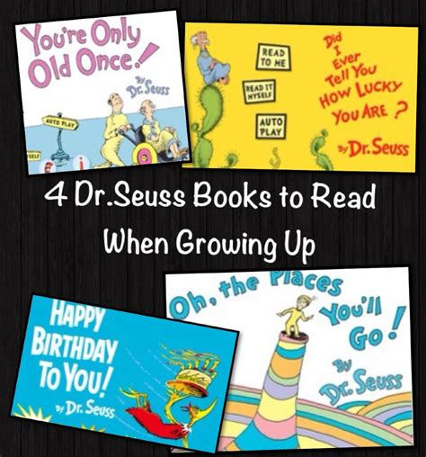 libro dr seuss 4 cmo four dr seuss books to read when growing up