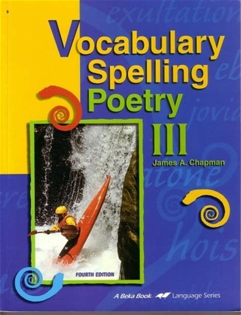 themes in literature abeka vocabulary spelling poetry iii grade 9 by a beka 9th