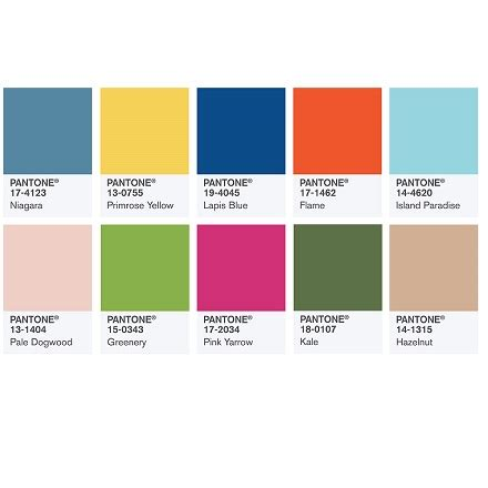 trendfarben wand pantone color trends 123 best 2018 trends images on