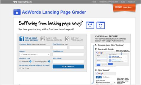 How To Create A High Converting Landing Page Adwords Landing Page Templates