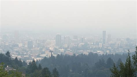 Portland Oregon Nw Mba Sept 9 by Portland Has Worst Air Quality In U S Entire Area