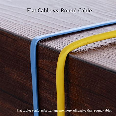 hexagon network ethernet cables hexagon network ethernet cable cat6 flat 15ft black