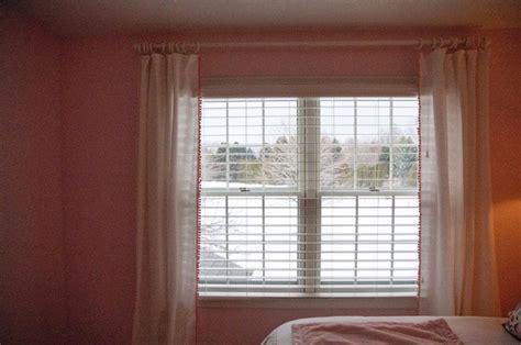 Curtains With Pom Poms Decor Diy Pom Pom Trim Curtains