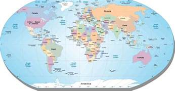 World Map Countries by World Maps