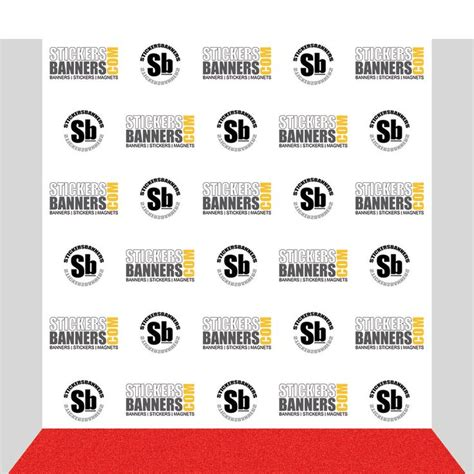 Step And Repeat Template Choice Image Template Design Ideas Step And Repeat Banner Template Illustrator